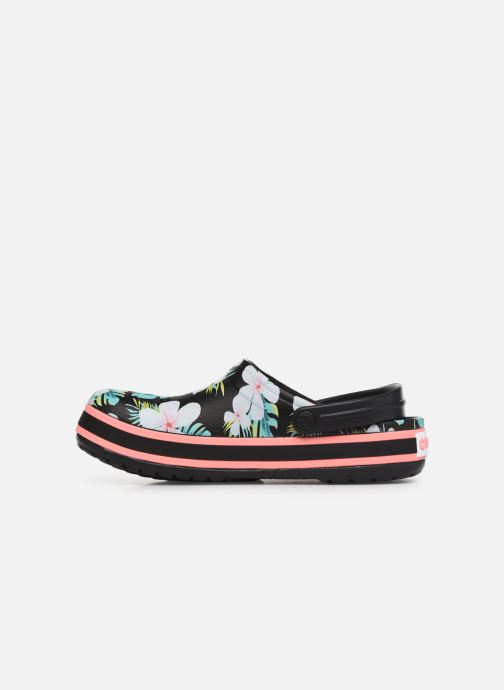 Wedges Crocs Crocband Seasonal Graphic Clog F Zwart voorkant