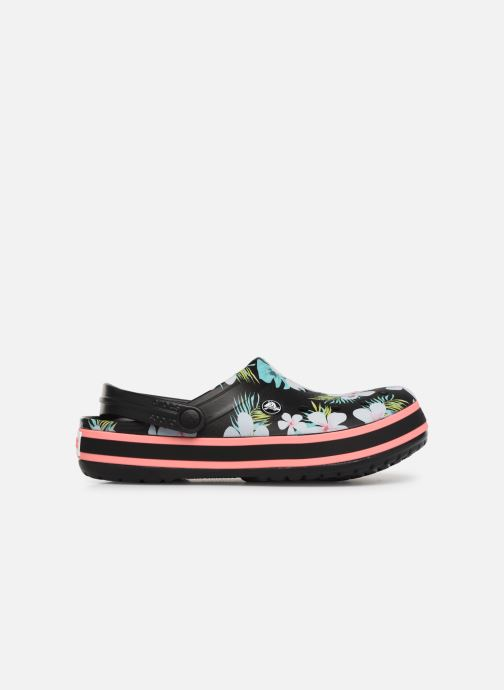 Wedges Crocs Crocband Seasonal Graphic Clog F Zwart achterkant