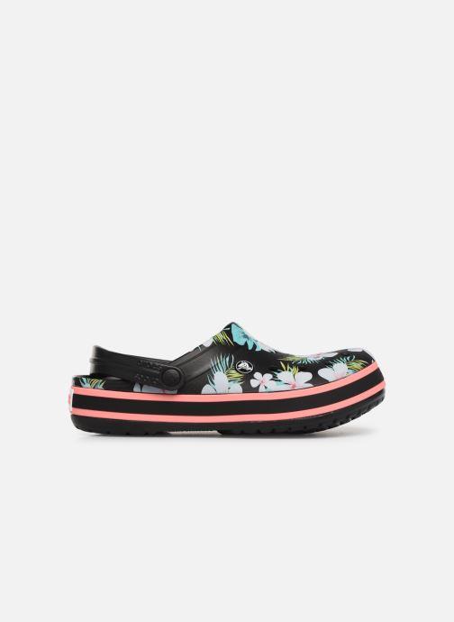Wedges Crocs Crocband Seasonal Graphic Clog F Zwart achterkant