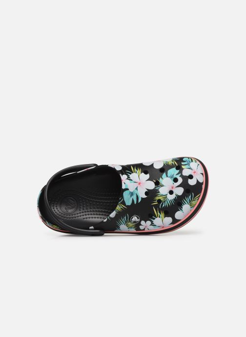 Wedges Crocs Crocband Seasonal Graphic Clog F Zwart links