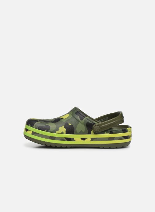 Mules & clogs Crocs Crocband Seasonal Graphic Clog F Green front view