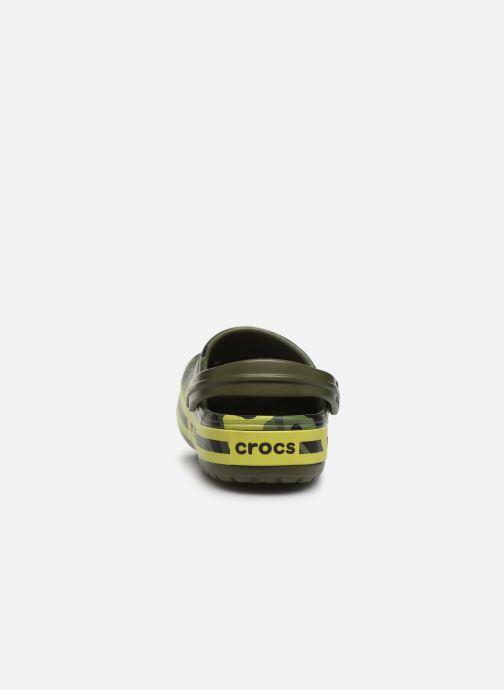 Clogs og træsko Crocs Crocband Seasonal Graphic Clog F Grøn Se fra højre