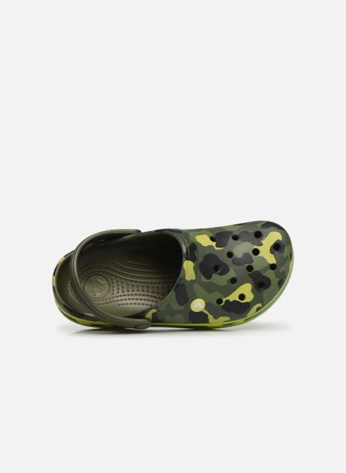 Mules & clogs Crocs Crocband Seasonal Graphic Clog F Green view from the left