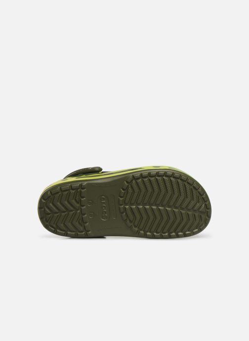 Wedges Crocs Crocband Seasonal Graphic Clog F Groen boven