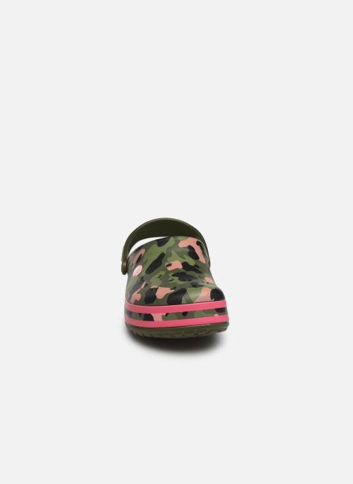 Mules et sabots Crocs Crocband Seasonal Graphic Clog F Vert vue portées chaussures