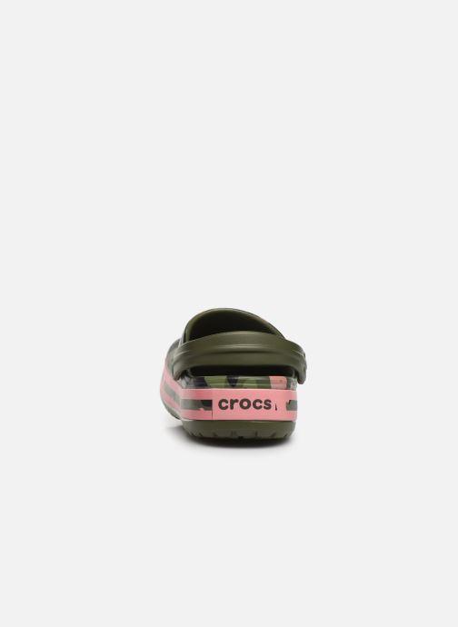 Mules et sabots Crocs Crocband Seasonal Graphic Clog F Vert vue droite