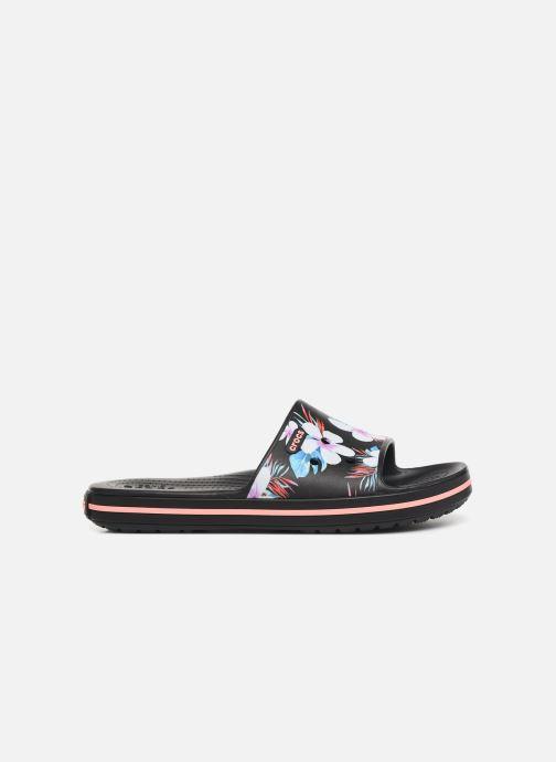 Wedges Crocs Crocband III Seasonal Graphic Slide F Zwart achterkant