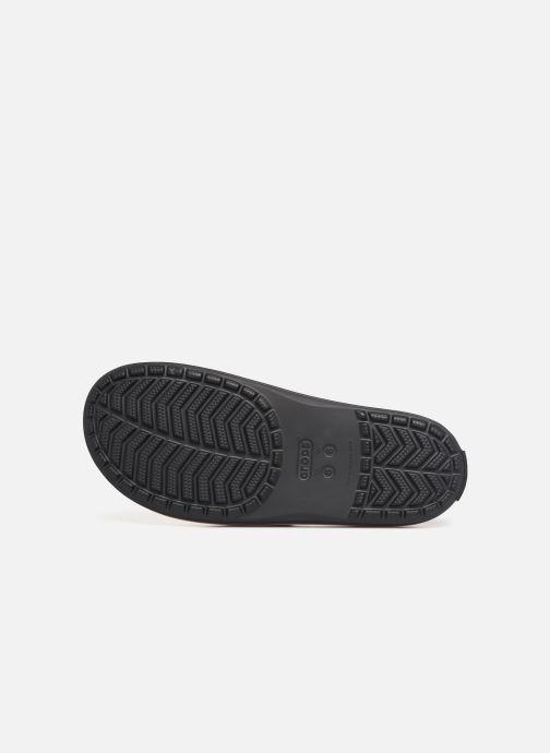 Wedges Crocs Crocband III Seasonal Graphic Slide F Zwart boven