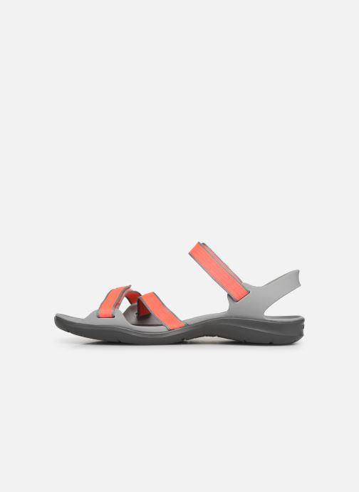 Et Bright Nu Crocs Swiftwater pieds Sandal light Webbing Sandales W Coral Grey 8On0vNwm
