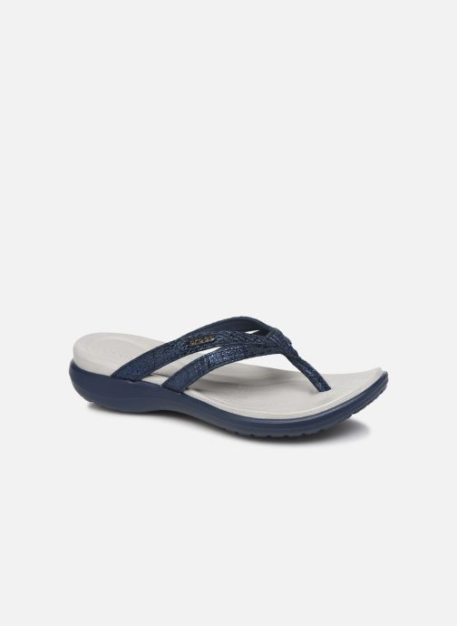 Slippers Crocs Capri Strappy Flip W Blauw detail