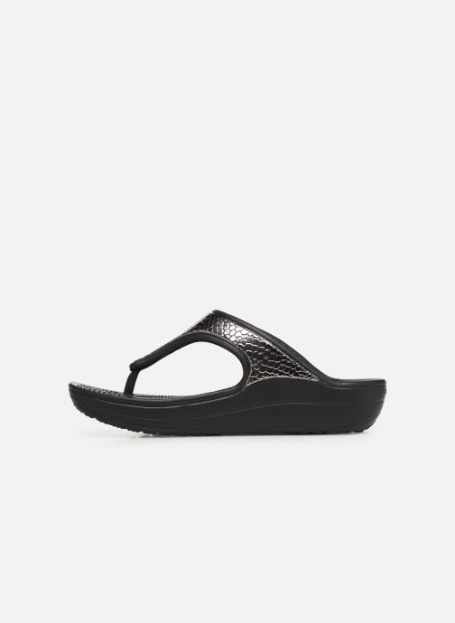 Flip Sloane Metaltxt W black Tongs Gunmetal Crocs wOPk0n