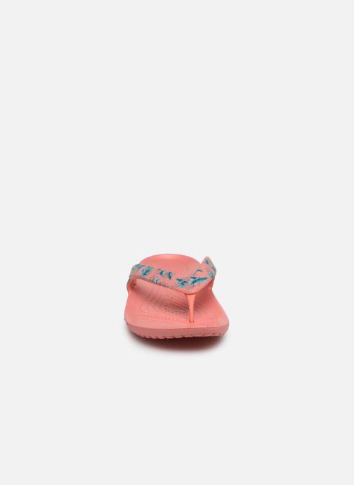 Flip flops Crocs Kadee II Seasonal Flip W Pink model view