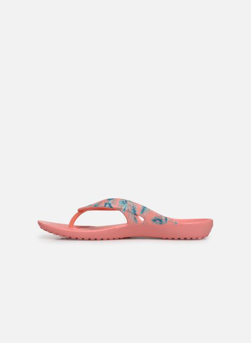 Flip flops Crocs Kadee II Seasonal Flip W Pink front view