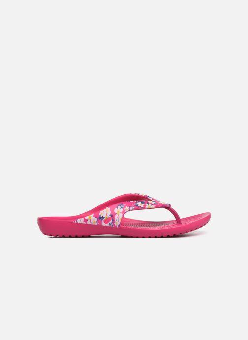 Flip flops Crocs Kadee II Seasonal Flip W Pink back view