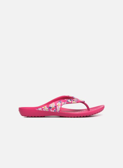 Tongs Crocs Kadee II Seasonal Flip W Rose vue derrière
