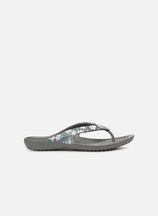 Tongs Crocs Kadee II Seasonal Flip W Gris vue derrière