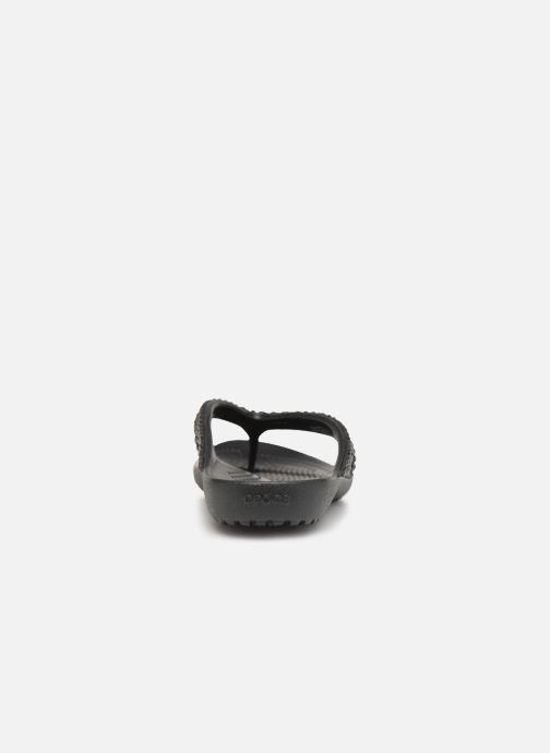 Zehensandalen Crocs Kadee II Embellished Flip W schwarz ansicht von rechts