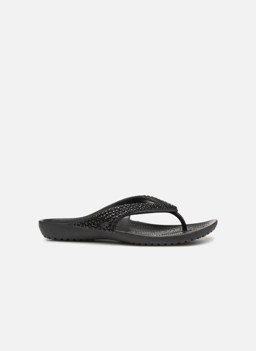 Zehensandalen Crocs Kadee II Embellished Flip W schwarz ansicht von hinten