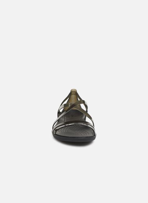 Sandales et nu-pieds Crocs Isabella Strappy Sandal W Noir vue portées chaussures