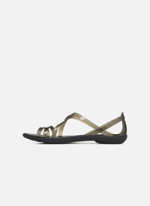 Sandals Crocs Isabella Strappy Sandal W Black front view