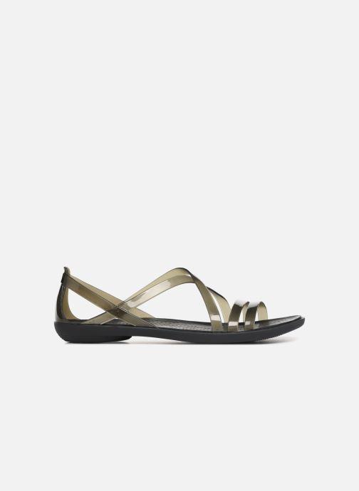 Sandales et nu-pieds Crocs Isabella Strappy Sandal W Noir vue derrière