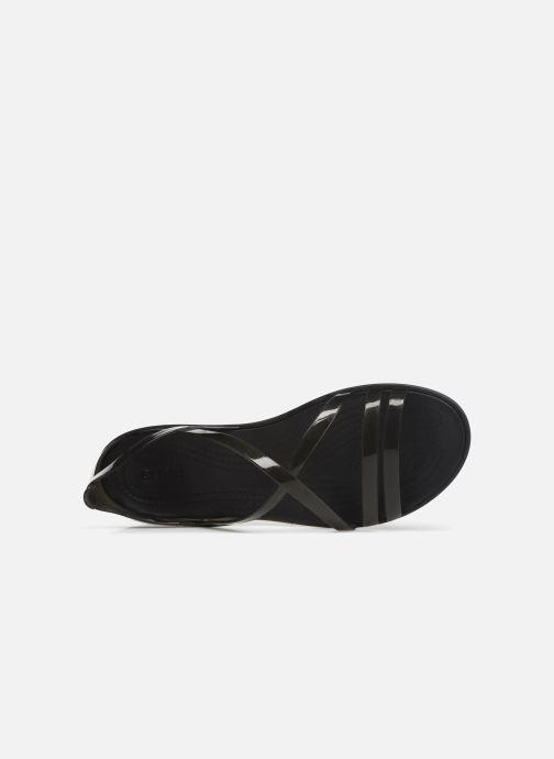 Sandales et nu-pieds Crocs Isabella Strappy Sandal W Noir vue gauche