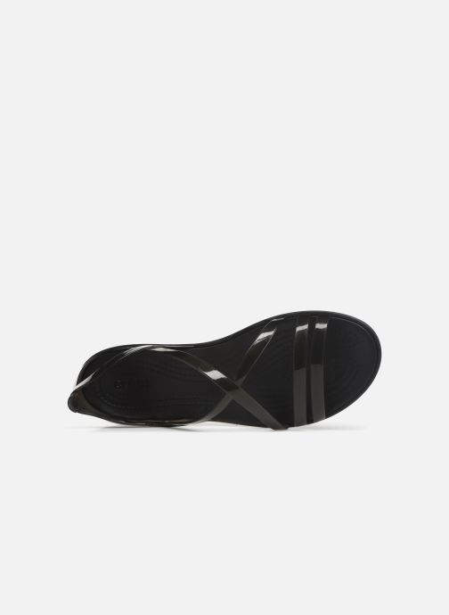 Sandals Crocs Isabella Strappy Sandal W Black view from the left