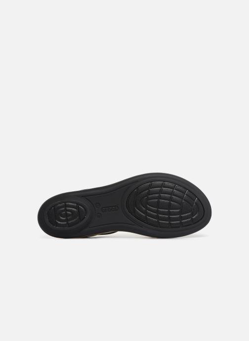 Sandales et nu-pieds Crocs Isabella Strappy Sandal W Noir vue haut