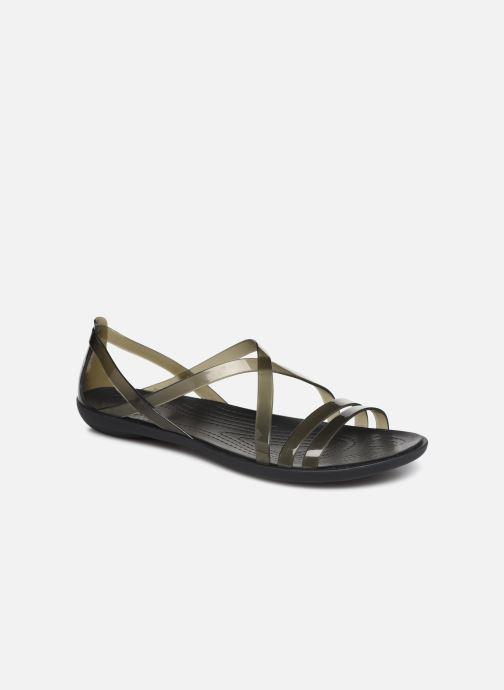 Sandales et nu-pieds Crocs Isabella Strappy Sandal W Noir vue détail/paire