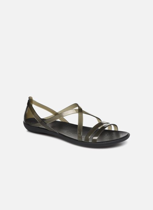Sandals Crocs Isabella Strappy Sandal W Black detailed view/ Pair view