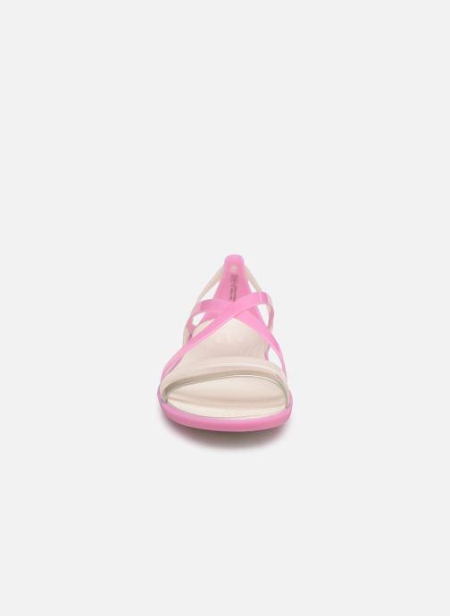 Sandales et nu-pieds Crocs Isabella Strappy Sandal W Rose vue portées chaussures