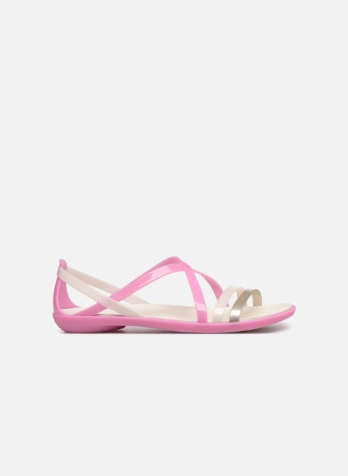 Sandales et nu-pieds Crocs Isabella Strappy Sandal W Rose vue derrière
