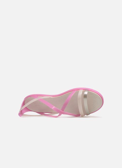 Sandales et nu-pieds Crocs Isabella Strappy Sandal W Rose vue gauche