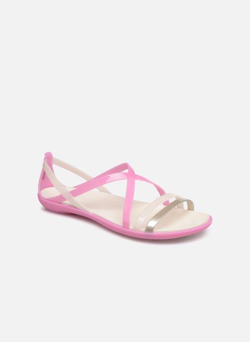 Sandales et nu-pieds Crocs Isabella Strappy Sandal W Rose vue détail/paire