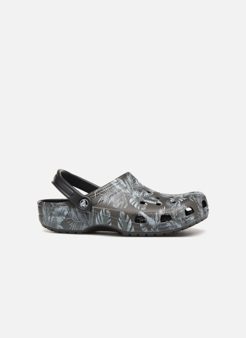 Sandales et nu-pieds Crocs Classic Seasonal Graphic Clog M Noir vue derrière