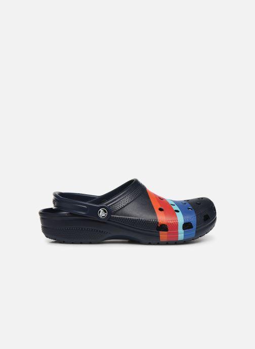 Sandales et nu-pieds Crocs Classic Seasonal Graphic Clog M Bleu vue derrière