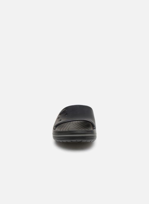 Sandali e scarpe aperte Crocs Crocband III Slide M Nero modello indossato