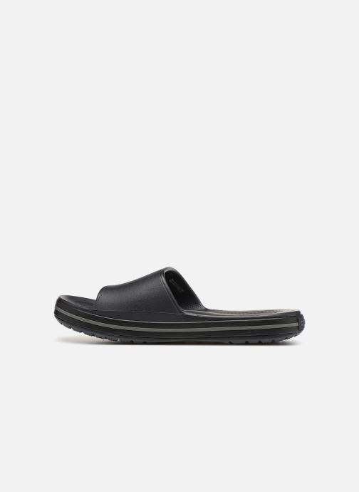 Sandales et nu-pieds Crocs Crocband III Slide M Noir vue face
