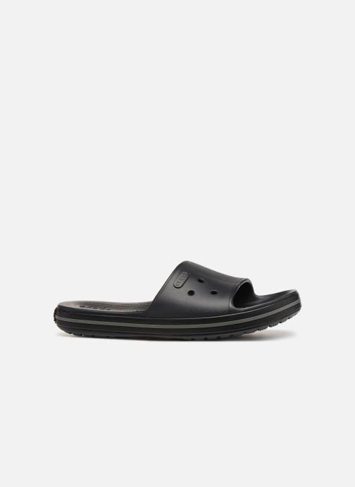 Sandales et nu-pieds Crocs Crocband III Slide M Noir vue derrière