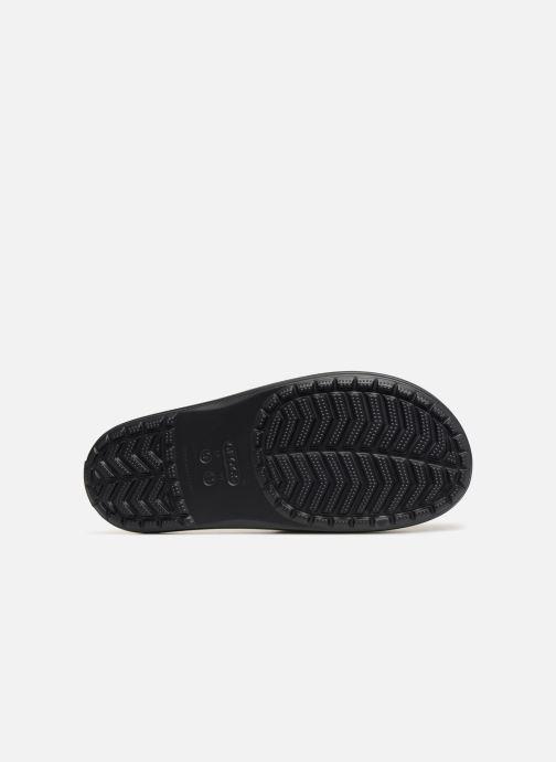 Sandales et nu-pieds Crocs Crocband III Slide M Noir vue haut