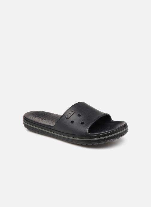 Sandales et nu-pieds Crocs Crocband III Slide M Noir vue détail/paire
