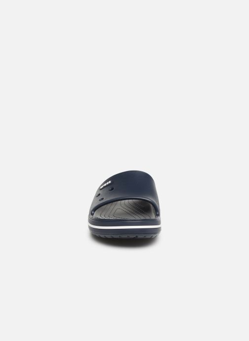 Sandales et nu-pieds Crocs Crocband III Slide M Bleu vue portées chaussures