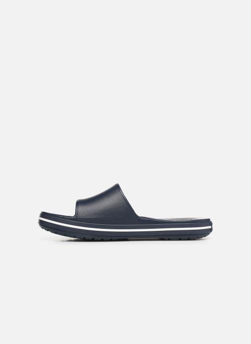 Sandales et nu-pieds Crocs Crocband III Slide M Bleu vue face