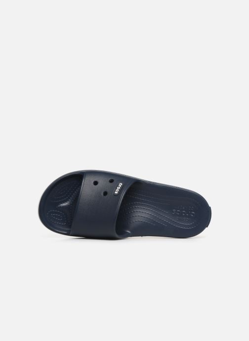 Sandals Crocs Crocband III Slide M Blue view from the left