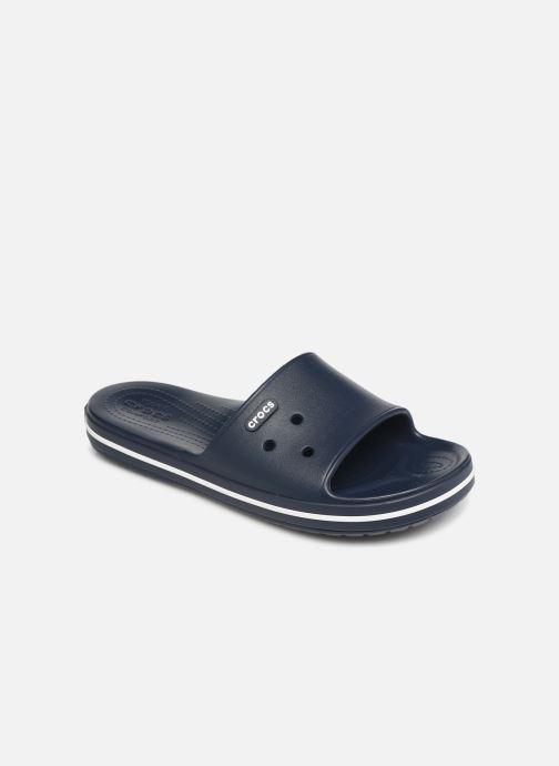 Sandales et nu-pieds Crocs Crocband III Slide M Bleu vue détail/paire
