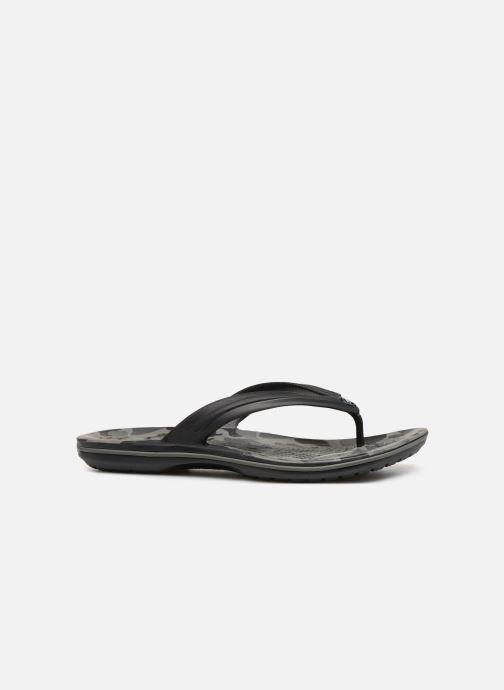 Zehensandalen Crocs Crocband Seasonal Graphic Flip M schwarz ansicht von hinten