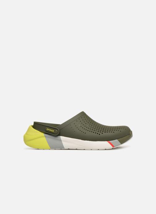 Sandales et nu-pieds Crocs LiteRide Colorblock Clog M Vert vue derrière