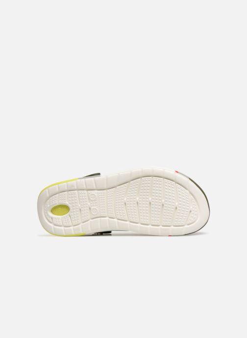 Sandales et nu-pieds Crocs LiteRide Colorblock Clog M Vert vue haut