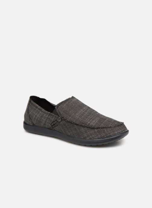 Mocassins Crocs Santa Cruz SL M Noir vue détail/paire