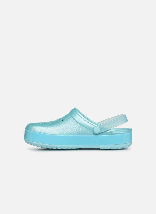 Mules et sabots Crocs Crocband Ice Pop Clog F Bleu vue face